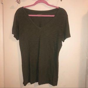 Arizona Jeans Co. Mold Green Short Sleeve T-Shirt